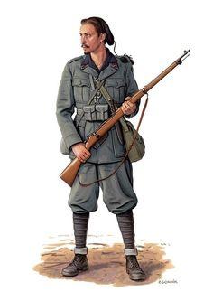 """Italian Black Shirts, 34° Battaglione M """"Savona"""", Russia 1942 - pin by Paolo Marzioli"""