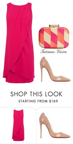 069 by tatiana-vieira on Polyvore featuring Christian Louboutin and Badgley Mischka