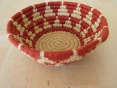 Coiled basket by Freya Willemoes-Wissing, via Flickr