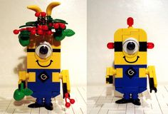 Lego Fruit hat and Be-Do Minion