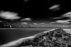 Mouth Of The Boyne by Ashley Kydd Black and white photography