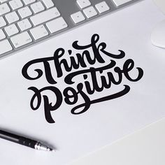 A positive Sunday! Awesome lettering by @maxpirsky    Feel free to share your work at http://ift.tt/2uLoFk2 #goodtype #ligaturecollective #typographie #typegang #typeyeah #thedailytype #typographyinspired #typespot #typedrawn #greattype #tyxca #slowroastedco #50words #typism #brushlettering #designspiration #calligritype #handdrawntype #calligraphy #typography #lettering #typografi #thedesigntip #typematters #type #letteringco #typespire #typographie #handmadefont #strengthinletters