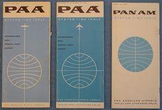 sayhitoinspiration: (via Pan Am Timetables) Vintage Tiki, Vintage Travel, Vintage Airline, Circle Square Triangle, Ticket Design, Airline Logo, Pan Am, Ad Art, Say Hi