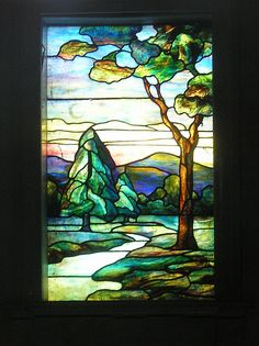 The Stained Glass Windows of Rock Creek Cemetery
