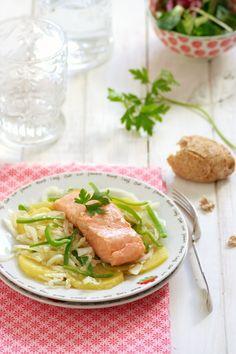 En casa el pescado siempre está presente y una de las formas que suelo cocinarlo es en papillote, una técnica que posee muchas ventajas, ya que los alimentos se cocinan en su propio jugo, haciendo que conserven intactos todos los nutrientes y vitaminas. Es un método muy sencillo y …