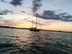 Florida sunset on the water...home..