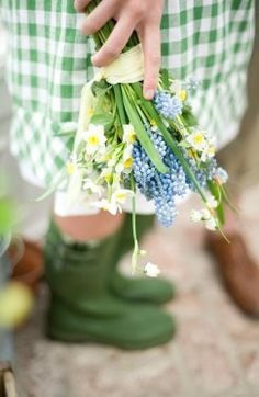 Spring flowers & green wells | Greenhouse wedding shoot, Project Wedding
