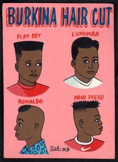 Bravo! / Indigo Arts Gallery   African Barber Signs   Burkina Faso