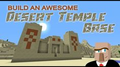 It's exciting to be wandering through a Minecraft desert and stumble upon a desert temple. All you can think about is getting the booty at the bottom of the pit. But then what? In this video I'll show you how to turn that temple into a really cool base.