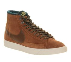 95ef76d60e951 Mens Nike Blazer Mid Wheat Suede Hiking Trainers Size 6 - OFFCUTS SHOES by  OFFICE