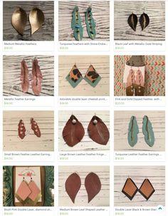Style- Leather Earrings