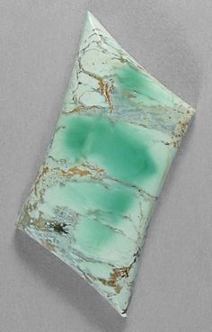 Variscite is a hydrated aluminum phosphate mineral; a relatively rare phosphate mineral. It is sometimes confused with turquoise; however, variscite is usually greener in color