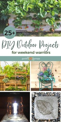 If you are looking for a weekend project that will get you outdoors for a little DIY, then you have come to the right place! Short-term projects are a great way to spruce up your outdoor space and feel the satisfaction of creating something for your home. Plus, they can save you big bucks when it comes to the final budget. #gardentherapy #diyoutdoor #outdoorliving #outdoorprojects #gardening #diy Outdoor Projects, Garden Projects, Growing Flowers, Planting Flowers, Outdoor Spaces, Outdoor Living, Weekend Projects, Shade Garden, Organic Gardening