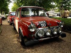 """The 66 Monty """"3rd"""" place Hopkirk car"""