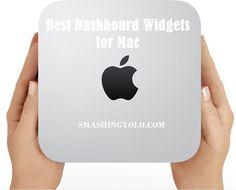 20 Best Dashboard #Widgets for #Mac