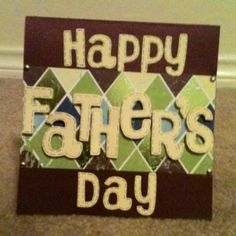 Father's Day card! :) This is sweet!