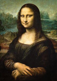Leonardo da Vinci - Mona Lisa, 1503 at Louvre Museum Paris France