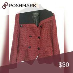 Ladies jacket Fashion peacoat jacket in tweed Forever 21 Jackets & Coats Pea Coats