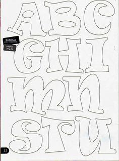 letras en goma eva - Buscar con Google