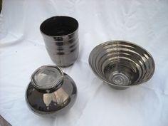 Laura Wowk Pottery palladium glaze over wheel thrown white stoneware