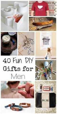 40 Fun DIY Gifts for...