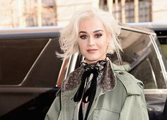Katy Perry attending the Marc Jacobs Fall 2017... | I ❤ Katy Perry