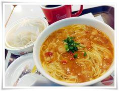 Hideの「何をゆう~、早見優~」 ◆釧路食遊記◆:ミスタードーナツ 香味 海老湯麺と飲茶セット