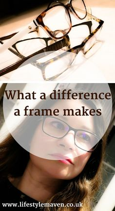 What a difference a frame makes. I was incredibly jealous of my bespectacled friends as a child. Be careful what you wish for people.