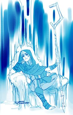 Winter Prince Jack Frost Interesting rendition