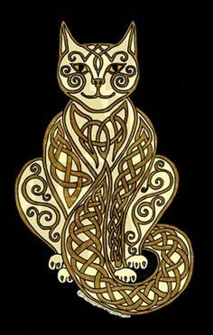 Celtic cat