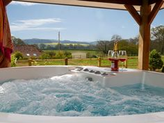 Summer Lodge, Nether Stowey, Somerset, England, Sleeps 2, Bedrooms 1, Self-Catering Holiday Cottage With Hot Tub, Pet Friendly.