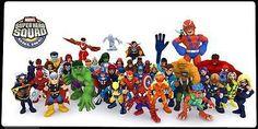 Imaginext and Marvel Super Hero Squad Figures Batman Villains Joker Robin Etc