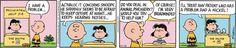 Peanuts Comic Strip, November 16, 2015     on GoComics.com