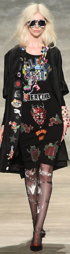 Libertine Spring Summer 2015 Ready-To-Wear collection