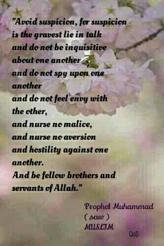 Hadith (saying) of Prophet Muhammad ( saw ) MUSLIM