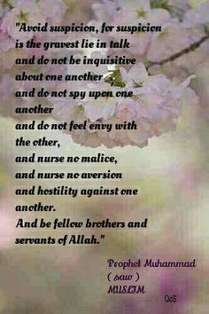 Hadith (saying) of Prophet Muhammad ( saw ) MUSLIM
