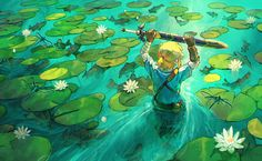 Link - Zelda no Densetsu - Image - Zerochan Anime Image Board The Legend Of Zelda, Legend Of Zelda Breath, Twilight Princess, Breath Of The Wild, Fanart, Manga Anime, Anime Art, Link Art, Video X