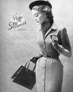 1954 Vera Stewart--oh the girdle, that right there is what you do.