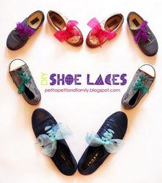 DIY Funky Kids Shoe Laces | Kidsomania