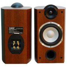 Taga Harmony HTA-700B mas Platinum B40 walnut - Altavoces de Estanteria Altavoces de estanteria de la nueva serie Harmoni de Taga, que dan un sorprendente sonido para su reducido tamaño. #altavoces #altavocesestantería