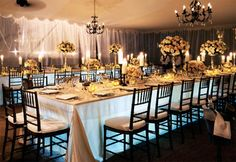 love the chandeliers!