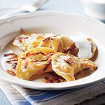 Tempting recipes for both savoury and sweet perogies: Potato-Cheddar, Mushroom-Saurkraut, Sweet Potato, Blueberry and more.