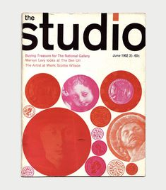 The Studio Magazine Covers, / Aqua-Velvet Love Magazine, Magazine Covers, Book Design, Cover Design, Design Movements, Image List, Color Harmony, Retro Design, Graphic Design Inspiration