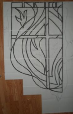 """Possibility for a """"stained glass"""" look."""