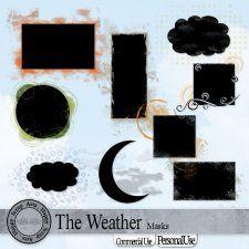 The Weather Masks cudigitals.com cu commercial scrap scrapbook digitalgraphics#digitalscrapbooking #photoshop #digiscrap #scrapbooking