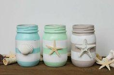 Thirty Beachy Mason Jar Ideas | Yesterday On Tuesday