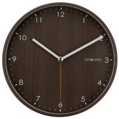 Want a clock like this for my office. And it's silent!
