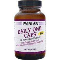 Better quality-better results! TWINLAB Daily One without Iron Multivitamin 60-90-180 caps Love Better Quality   #TWINLAB