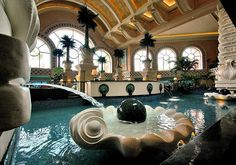 Interior design at Atlantis Hotel & Resort, Paradise Island, The Bahamas (by Serge Freeman). Beautiful Pools, Beautiful Places, Amazing Places, Bahamas Vacation, Vacation Spots, Atlantis Bahamas, Outside Living, Hotels And Resorts, Luxury Hotels