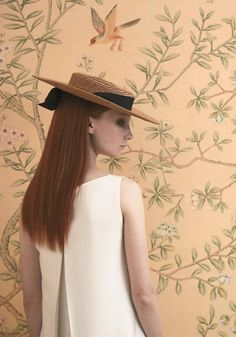 The Boat Race, Couture Hat by Prudence Millinery for Lock Couture SS2018 Collection